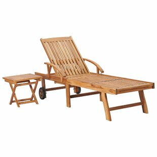 Hong Reclining Sun Lounger By Gracie Oaks