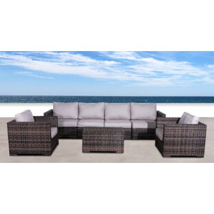 Pierson Resort 4 Piece Sectional Set with Cushions