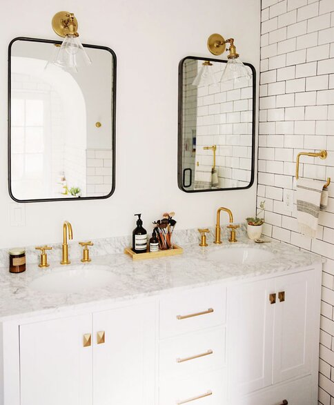 Elegant Wayfair Registry / New Darlings Bathroom Vanity