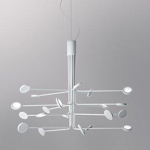 ZANEEN design Arbor 20-Light LED Chandelier