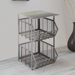 Myra End Table by 17 Stories
