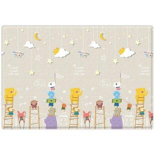 Price comparison Bear Little Star/ABC Pure Soft Floor Mat ByParklon