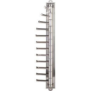 Screw Mounted Cascading Tie Rack by Hardware Resources