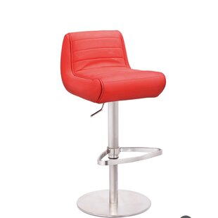 Recaro Adjustable Height Swivel Bar Stool by Mobital