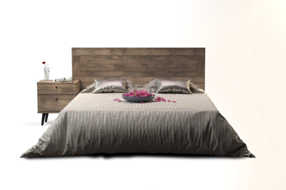 langley street norloti queen platform bed & reviews | wayfair