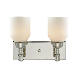 Seraphina 2-Light Vanity Light Darby Home Co