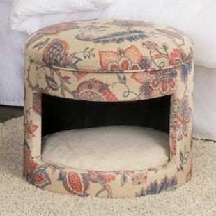 Hope Decorative Hideaway Ottoman Cat Bed