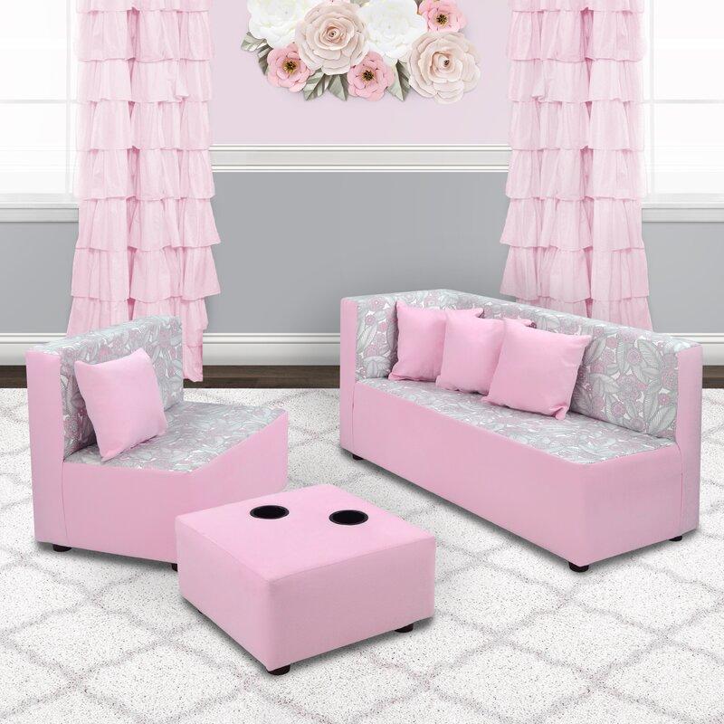 Corsair 7 Piece Kids Sofa Set