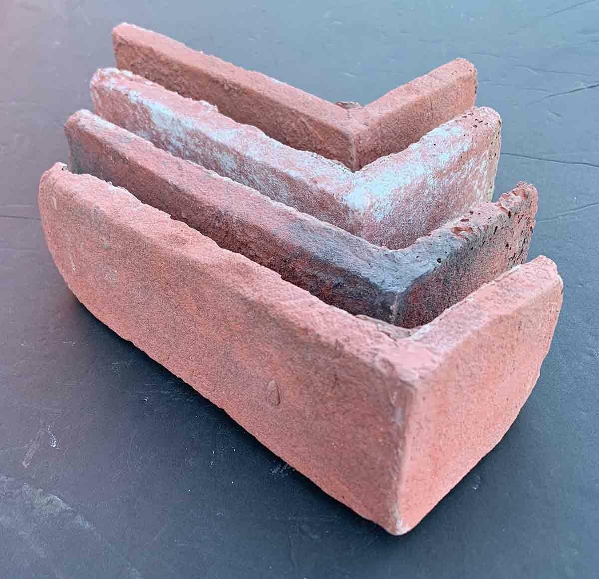 Faceables Old Brick Corners 3 X 15 Cement Subway Tile Wayfair Ca