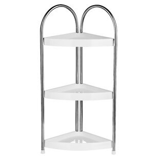 3 Tier Corner Bathroom Shelf Unit