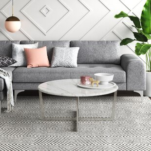 Round Stainless Steel Coffee Tables You Ll Love In 2021 Wayfair