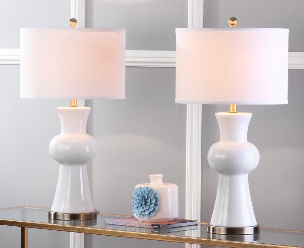 Garlen column 30 table lamp