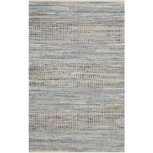 Fauna Natural/Blue Area Rug