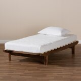 Medora Twin Solid Wood Low Profile Platform Bed by Millwood Pines