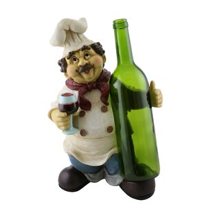 Luann Happy Chef 1 Bottle Tabletop Wine R..