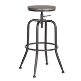 Wiltz Adjustable Height Bar Stool (Set of 2) by 17 Stories
