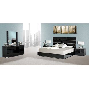 Orren Ellis Concourse Platform 5 Piece Bedroom Set
