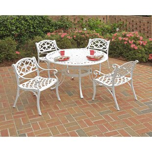 Astoria Grand Bodrum 5 Piece Dining Table Set