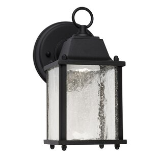 Charlton Home Alfonso LED Outdoor Wall Lantern
