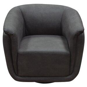 Halcott Swivel Barrel Chair by Latitude Run