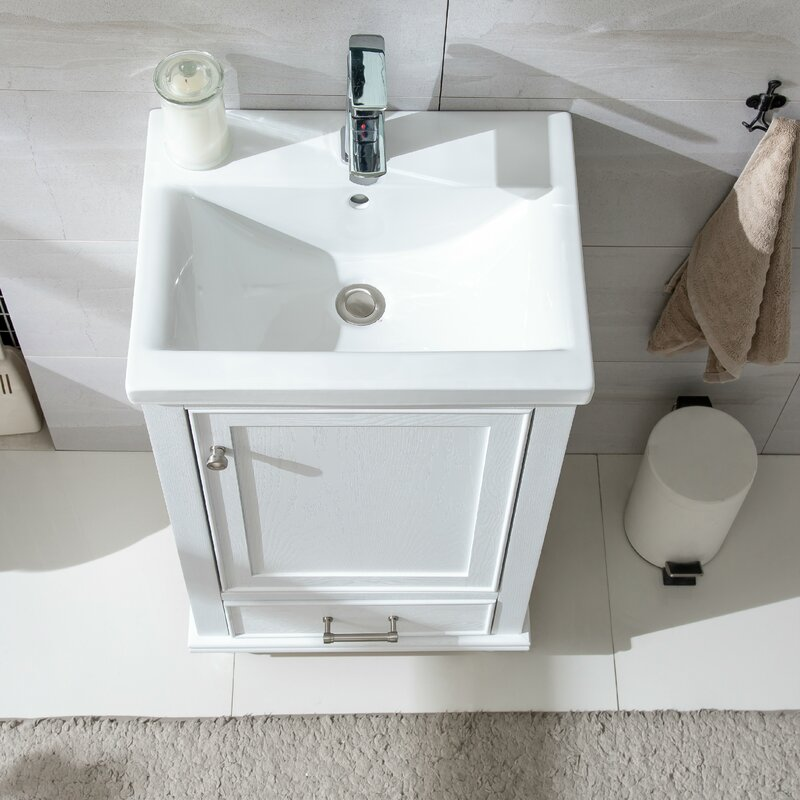 Three Posts Belton 20 Single Bathroom Vanity Set Reviews Wayfair