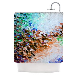 Winter Retreat by Ebi Emporium Single Shower Curtain