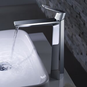Exquisite Vessel Single Hole Single Handle Bathroom Faucet