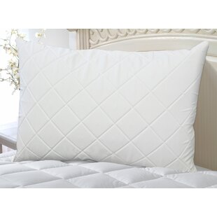 Wellrest Quilted Memory Foam Pad and Pillow Enhancer Set