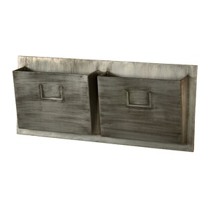 Capitola 29.25 x 12 x 4 Industrial Wall Mounted Mailbox