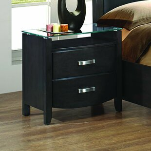 Herring 2 Drawer Nightstand by Latitude Run