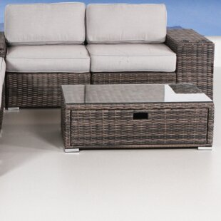 Latitude Run Nolen 8 Piece Sectional Set with Cushions