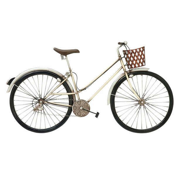 Bicycle Wall Decor cole & grey bike wall décor & reviews | wayfair