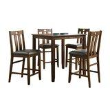 Copenhagen 5 - Piece Counter Height Dining Set by Red Barrel Studio®