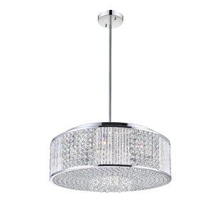 CWI Lighting 12-Light Crystal Chandelier