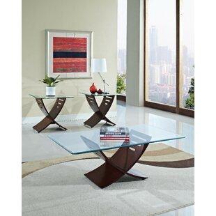 Orren Ellis Kommini 3 Piece Coffee Table Set