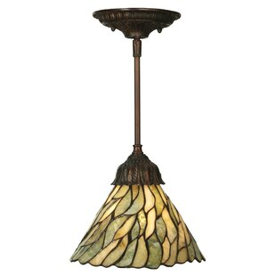 Astoria Grand Weissman Willow 1-Light Cone Pendant