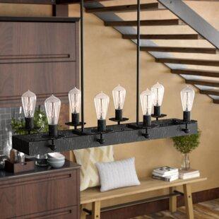 over kitchen island lighting hines 8light kitchen island pendant pendants joss main