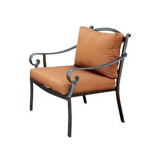 Dominque Scrolled Arm Chair with Cushion
