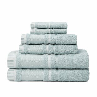 6 Piece Turkish Cotton Towel Set