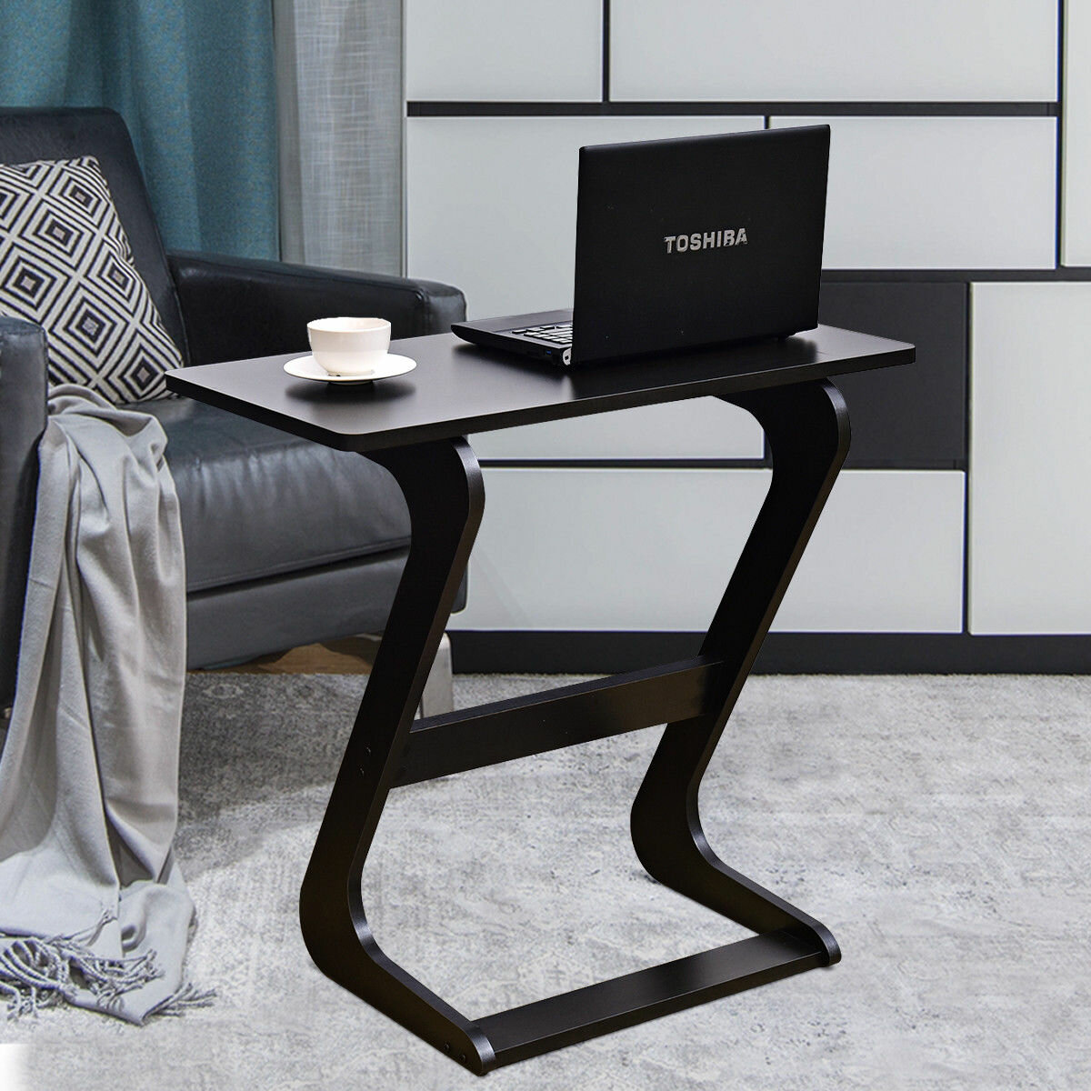 Winston Porter Lorna Console Snack End Table Reviews Wayfair