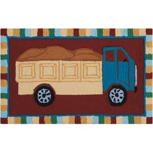 Hillview Hand-Tufted Red Novelty Rug
