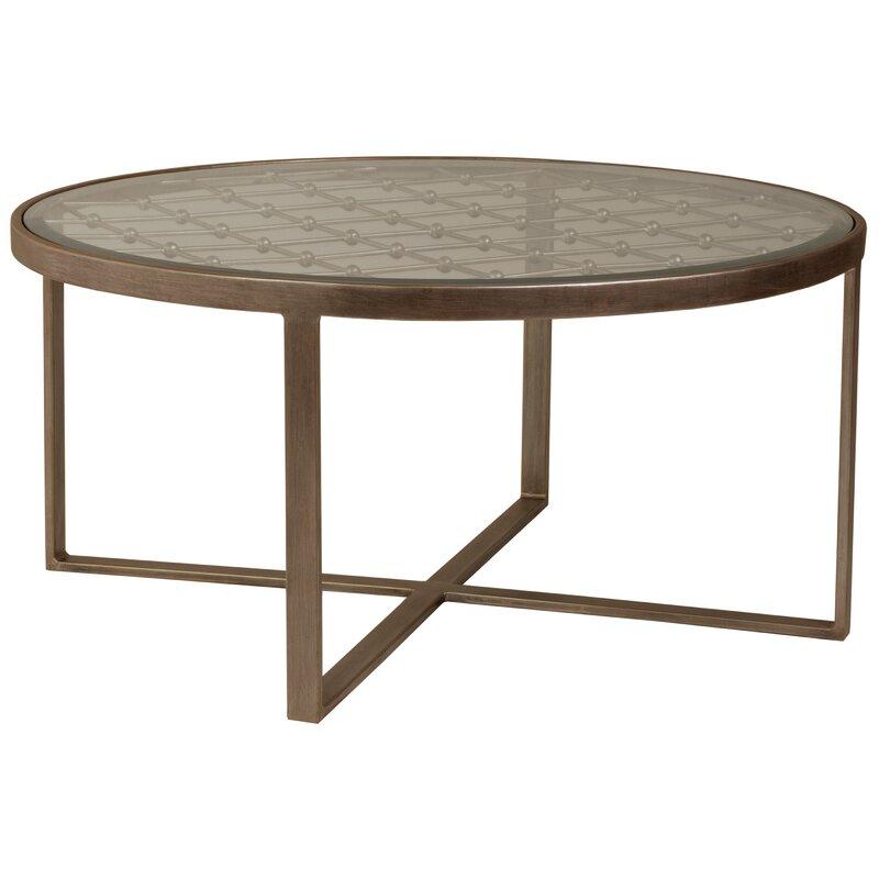 Vintage Forged Metal Coffee Table Frame