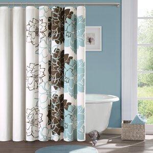 Bathroom Shower Curtain Sets Wayfair - Bathroom shower curtains with designs