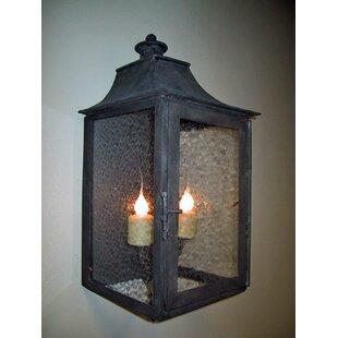 Queenborough 2-Light Outdoor Wall Lantern..