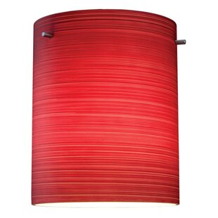 Regal 1-Light Cylinder Pendant by Bruck Lighting