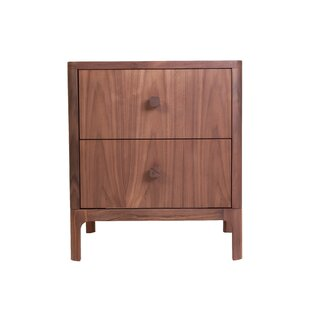Ozzie 2 Drawer Nightstand by Brayden Studio