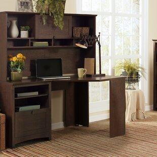 Darby Home Co Buena Vista Computer Desk with Hutch