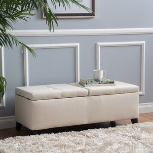 Mengel Storage Tufted Ottoman by Latitude Run