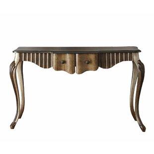 Aisling Wood Console Table by August Grove