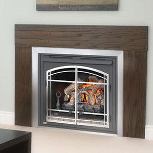 Zero Clearance Vent Free Wall Mounted Natural Gas Fireplace